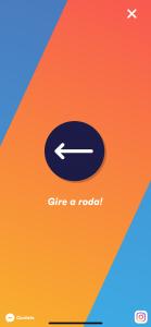 Imagem da tela do aplicativo verdade ou desafio com um exemplo de desafio